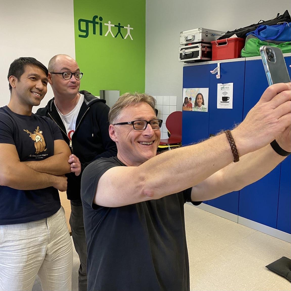 Selfie bei der gfi Herne